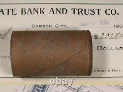 $20 Silver Morgan Dollar Roll 20 Bu Uncirculated Morgans 1898 & Cc-mint Ends