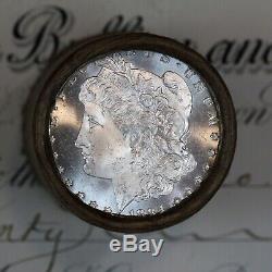 $20 Silver Morgan Dollar Roll 20 Uncirculated Morgans 1884 & S-mint Ends