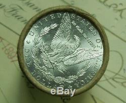 $20 Silver Morgan Dollar Roll UNCIRCULATED 1889 & CC Dollar Ends Pre 21