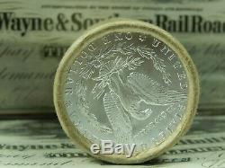 $20 Silver Morgan Roll UNCIRCULATED Silver Dollar Dollars 1879 & CC Ends Pre 21
