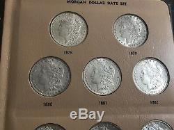 23 Coin Near COMPLETE 1878-1921 Morgan Silver Dollar Date/Mint Set O S P CC