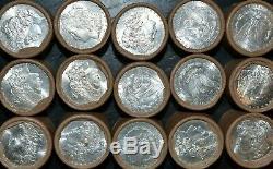 (2) $10 BU Morgan UNC Silver Dollar Roll Vintage Unopened! 1878 1904
