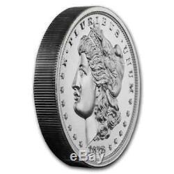 2 oz Silver High Relief Round 1878 Morgan Dollar SKU#200999