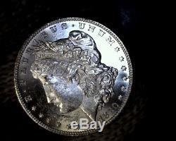 Error BU 1880-S VAM-12 8/7 Spikes, Doubled 188 Morgan Silver Dollar Coin