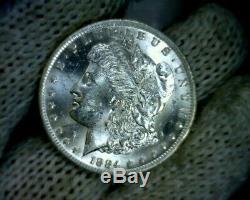 Error BU 1884-o o over cc VAM-10 Morgan Silver Dollar Coin o/cc