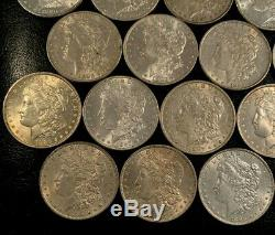 Fabulous Collector Lot of 32 Different 1878-1901 Morgan Silver Dollars Frosty/BU