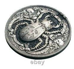 GOLD BUG Roman Booteen's coin Hobo Nickel Morgan Dollar & 1/10 gold