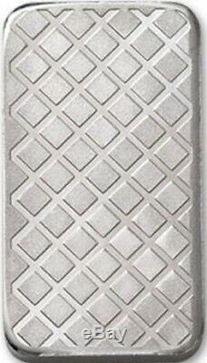 Lot of 2 5 oz. 999 Fine Silver Bars Morgan Dollar Design 10 oz total