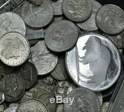Massive Estate Salemorgan Dollar Guaranteed Old Rare Us Coins Mixed Lot Hoard