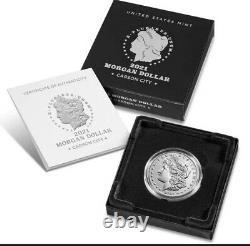 Morgan 2021 Silver Dollar With CC Privy Mark Confirmed Preorder, ships In Oct
