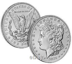 Morgan 2021 Silver Dollar with CC Privy Mark! Confirmation In Hand