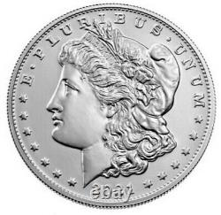 Morgan 2021 Silver Dollar with CC Privy Mark. Sold out at US mint. Preorder