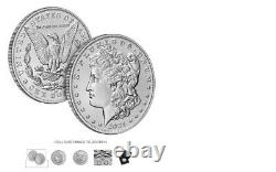 Morgan 2021 Silver Dollar with CC and O Privy Mark Presale of Confirmed Order