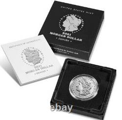 Morgan 2021 Silver Dollar with (D) Mint Mark -CONFIRMED ORDER SHIPS IN OCTOBER