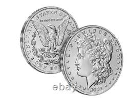 Morgan 2021 Silver Dollar with (D) Mint Mark CONFIRMED ORDER Ships in October