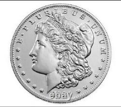 Morgan 2021 Silver Dollar with (D) Mint Mark Lot of 3 Coins PRE ORDER CONFIRMED