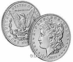 Morgan 2021 Silver Dollar with O Privy Mark Order Confirmed SHIPS OCT 2021