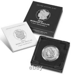 Morgan 2021 Silver Dollar with (S) Mint Mark -CONFIRMED ORDER SHIPS IN OCTOBER