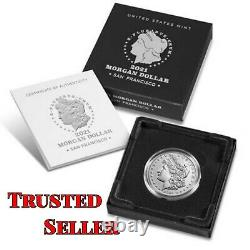Morgan 2021 Silver Dollar with (S) Mint Mark PRE ORDER Trusted Seller