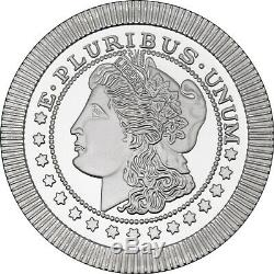 Morgan Dollar Stackables by SilverTowne 1oz. 999 Silver Rounds 100 Piece Lot