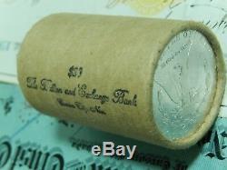 Morgan Silver Dollar Roll $20 CC & CC Morgan Dollars Ends BU UNC ROLL Pre 21