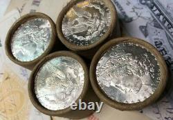 (ONE) UNCIRCULATED $10 Silver Dollar Roll CC & CC Morgan Dollar Ender