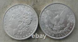 Original Roll 1885-p Morgan Silver Dollars. Ch/gem Bu