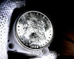 Original Roll (20) 1902-o Blast White Unc Morgan Silver Dollars Will Grade Out