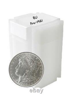 Pre 1921 Silver Morgan Dollar BU Lot of 10 S$1 Coins