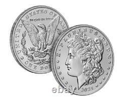 Pre-sale 2021 Morgan Silver Dollar (D) Mark 100th Anniversary SOLD OUT