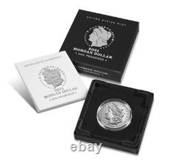 Pre-sale 2021 Morgan Silver Dollar (S) Mark 100th Anniversary SOLD OUT