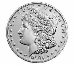 Pre-sale 2021 Morgan Silver Dollar with CC Privy Mark 100th Anniversary