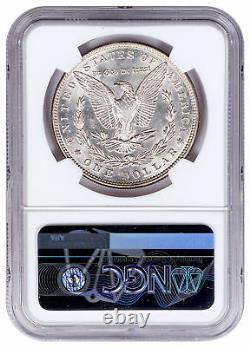 Random Date Morgan Silver Dollar NGC MS63 Excl Rick Harrison Signed SKU52694