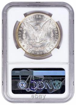 Random Date Morgan Silver Dollar NGC MS64 Excl Rick Harrison Signed SKU52693