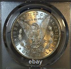 Roadrunner Collection 1880-S Morgan Dollar PCGS MS66+ CAC Classic Rainbow Toned