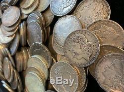 Roll 20 Coins $1 CULL 1921 Morgan US Silver Dollars Eagle Reverse 90% Bulk Lot