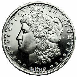 Roll of 20 Highland Mint Morgan Dollar Design 1/2 oz Silver Round SKU47770