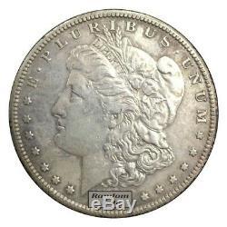 Roll of 20 Random Year 1878-1904 $1 Morgan Silver Dollars VF to XF