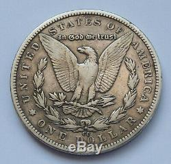 Semi-key! 1893-cc U. S. Morgan Silver Dollar Very Fine Condition
