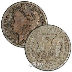 US Morgan Silver Dollar Roll of 20 coins Cull Pre 1921 Random Date