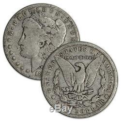 US Morgan Silver Dollar Roll of 20 coins VG/F Pre 1921 Random Date