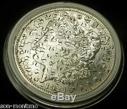 US SILVER DOLLAR JIGSAW PUZZLE COIN You Pick a Morgan or Peace / 25 or 55 Pieces